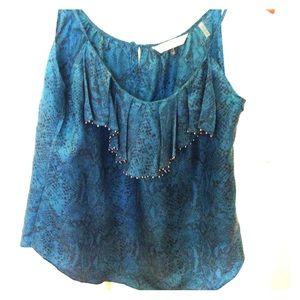 Rebecca tailor 100% silk top